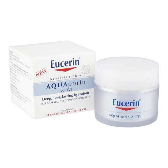 Eucerin AQUAporin Active lahka krema za normalno/mešano kožo, 50 mL