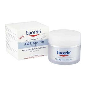 Slika Eucerin AQUAporin Active bogata nega za suho/občutljivo kožo, 50 mL