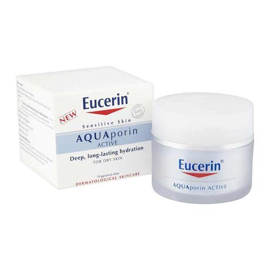 Eucerin AQUAporin Active bogata nega za suho/občutljivo kožo, 50 mL