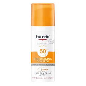 Slika Eucerin Sun Photoaging Control CC krema s faktorjem SPF 50, 50 mL