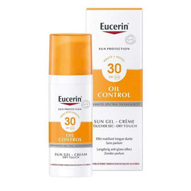Slika Eucerin Sun Dry Touch Oil control kremni gel s SPF30, 50 mL