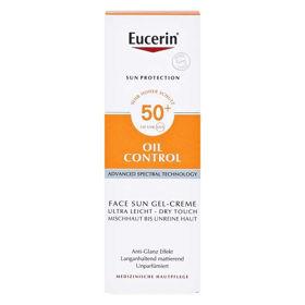 Slika Eucerin Sun Dry Touch Oil control kremni gel s SPF50, 50 mL
