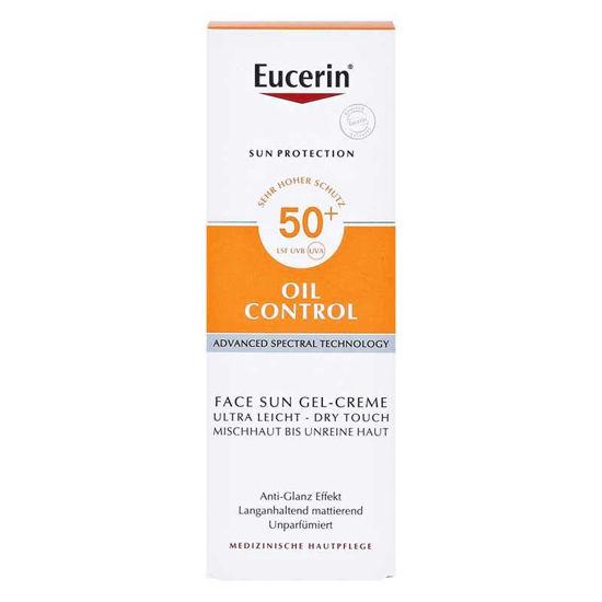 Eucerin Sun Dry Touch Oil control kremni gel s SPF50, 50 mL