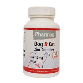 Slika Pharmox Zinc Complex za pse in mačke, 90 tablet