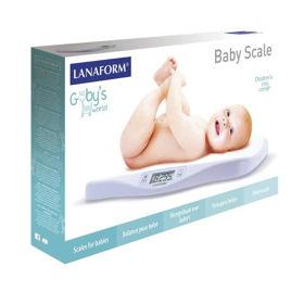 Slika Lanaform Baby scale otroška digitalna tehtnica, 1 tehtnica