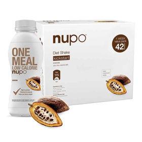 Slika Nupo klasični shake z okusom kakava, 1344 g + GRATIS shujševalni izdelek z okusom čokolade, 330 mL