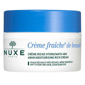 Slika Nuxe Creme Fraiche Riche 48-urna vlažilno pomirjujoča krema, 50 mL