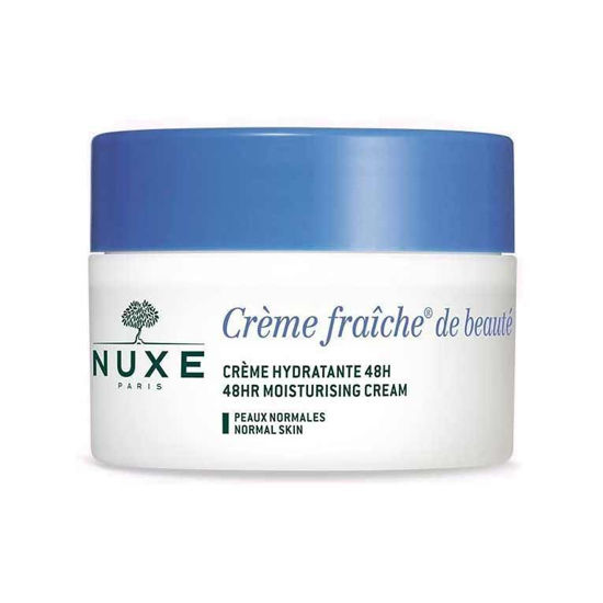 Nuxe Creme Fraiche 48-urna vlažilno pomirjujoča krema, 50 mL