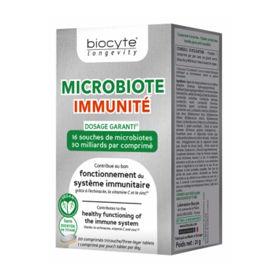 Slika Biocyte MICROBIOTA imunost, 20 troslojnih tablet