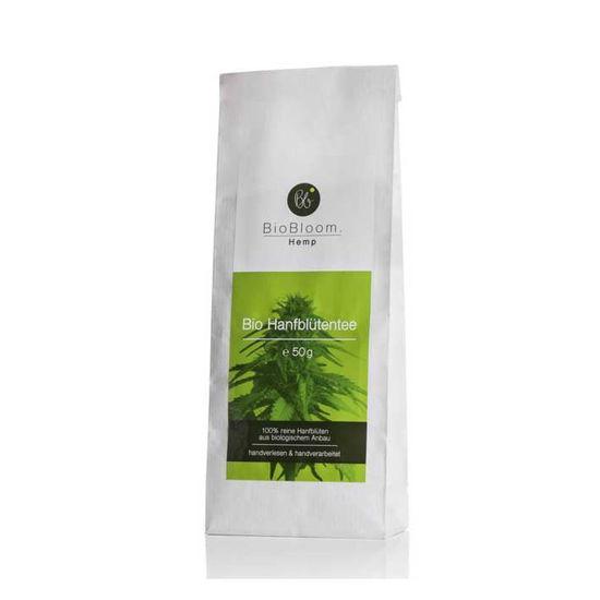 BioBloom bio konopljin čaj iz vršičkov - vrečka, 50 g