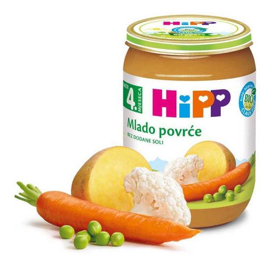 Hipp mlada zelenjava, 190 g