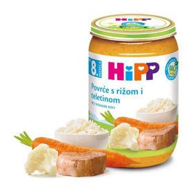 Slika Hipp zelenjava z rižem in bio-teletino, 220 g