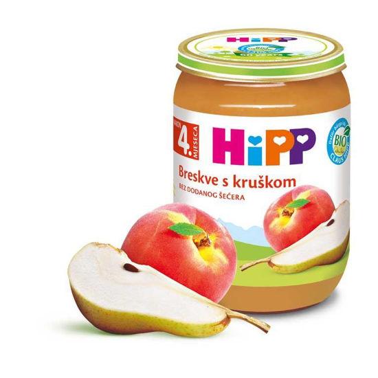 Hipp Breskve s hruško, 190 g