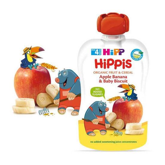HiPP Hippis jabolka banane keks, 100 g
