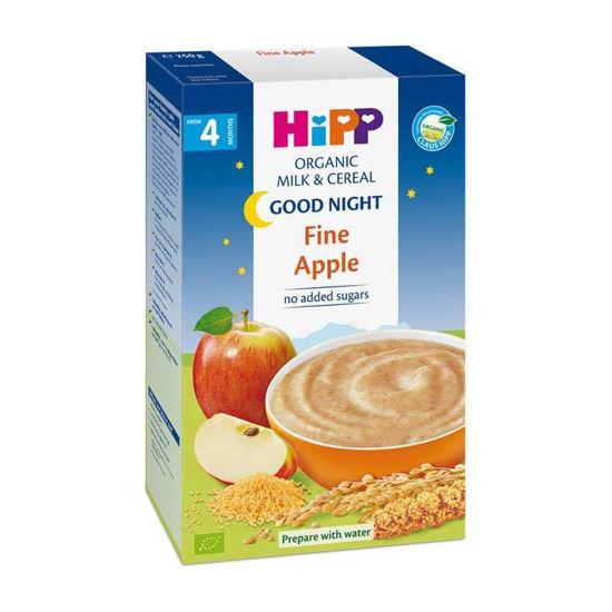 Hipp gotova bio mlečna kašica za lahko noč - jabolko, 250 g