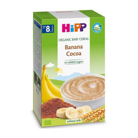 Slika Hipp gotova bio mlečna kašica banana in kakav, 200 g