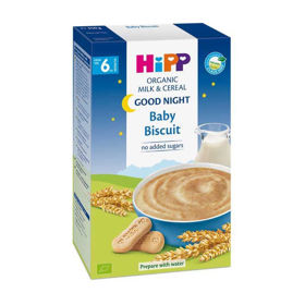 Slika HiPP gotova žitna kašica za lahko noč Baby keks, 250 g