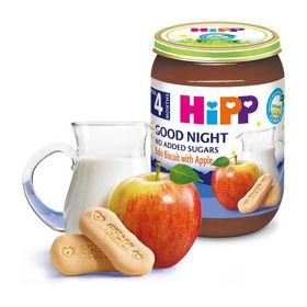 Slika HiPP zdrobova kašica baby keks z jabolki, 190 g