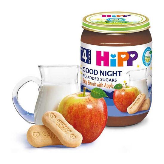 HiPP zdrobova kašica baby keks z jabolki, 190 g