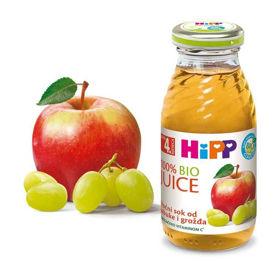 Slika HiPP sadni sok iz jabolk in belega grozdja, 200 mL