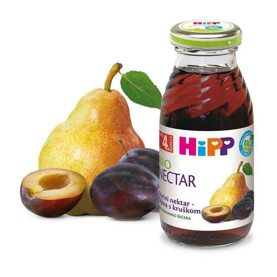 Hipp sadni nektar iz sliv in hrušk, 200 mL