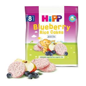 Slika Hipp otroški borovničevi riževi vaflji, 35 g