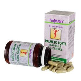 Slika Hafesan Palmeto Forte kapsule za ženske, 30 kapsul ali KOMPLET