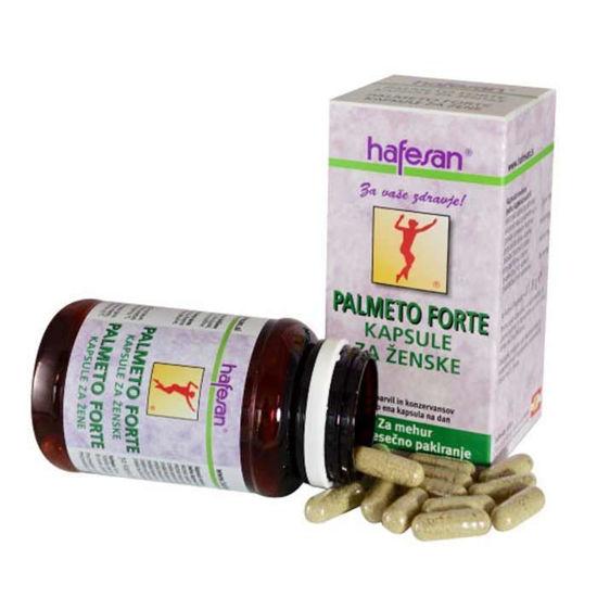 Hafesan Palmeto Forte kapsule za ženske, 30 kapsul ali KOMPLET