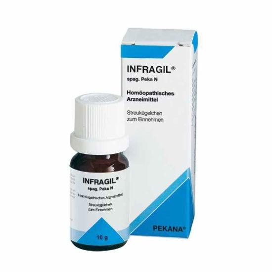 Infragil homeopatske kroglice, 10 g