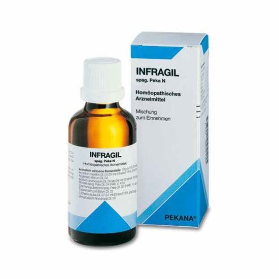 Infragil homeopatske peroralne kapljice, 30 mL