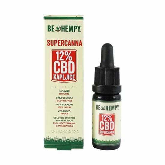 Be Hempy SuperCanna 1200 mg konopljine kapljice, 10 mg