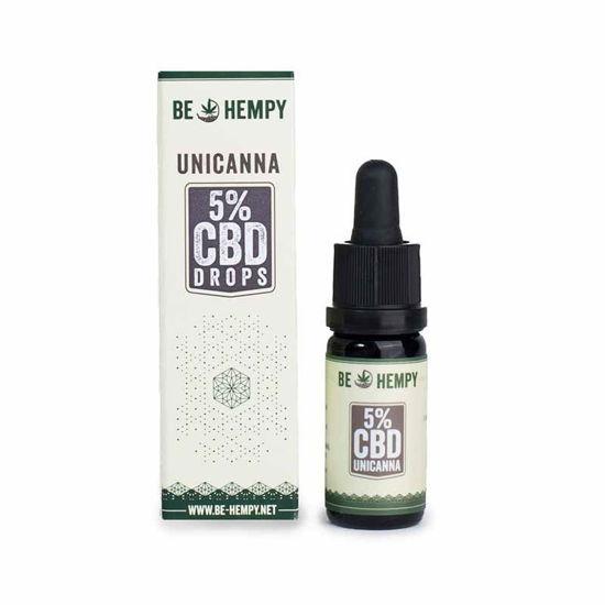 Be-Hempy UniCanna 5% CBD kapljice, 10 mL