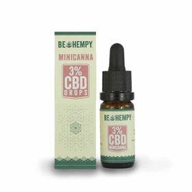 Slika Be Hempy MiniCanna 300 mg CBD kapljice, 10 mL
