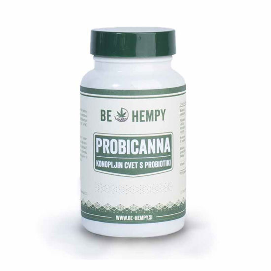 Be Hempy ProbiCanna CBD konopljin cvet z mikroorganizmi, 60 kapsul
