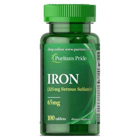 Slika Puritan's Pride Železo 28 mg, 100 tablet