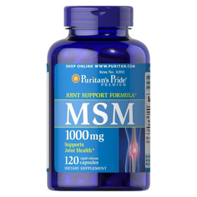 Slika Puritan's Pride MSM 1000 mg, 120 kapsul