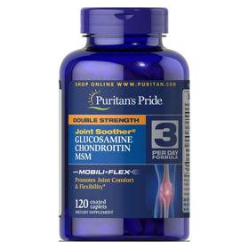 Slika Puritan's Pride Glukozamin, hondroitin & MSM, 240 tablet