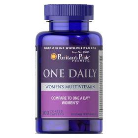 Slika Puritan's Pride One Daily multivitamini za ženske, 100 tablet