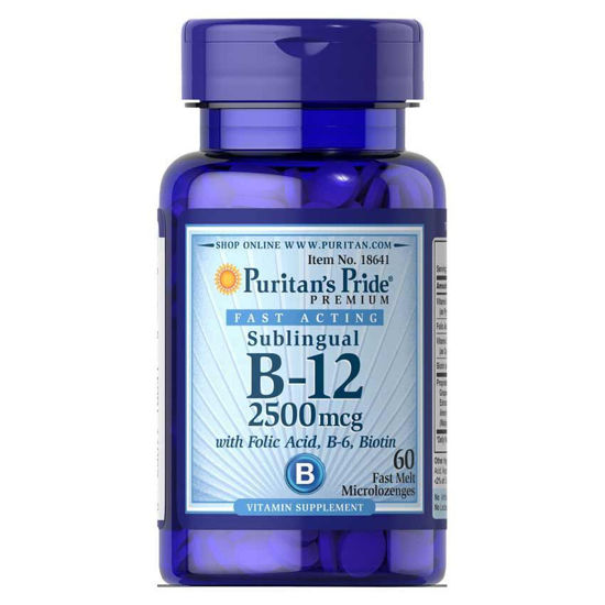 Puritan's Pride B-12 vitamin 2500 mcg, 60 mehkih kapsul