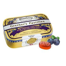 Slika Grether's pastile borovnica brez sladkorja, 110 g