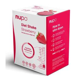 Slika Nupo klasični shake z okusom jagode, 384 g