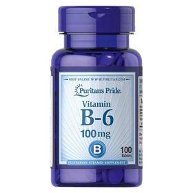 Slika Puritan's Pride B-6 vitamin 100 mg, 100 kapsul
