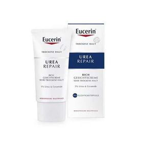 Slika Eucerin Urea Repair 5% Rich bogata krema za suho kožo, 50 mL