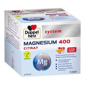 Slika Doppel Herz System Magnezij 400 citrat - zrnca, 20 ali 40 vrečk