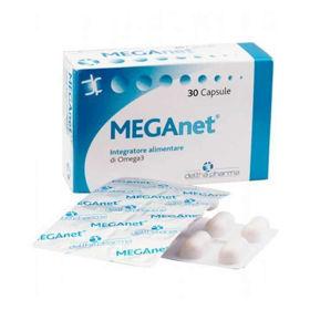 Slika MEGAnet Omega 3 ribje olje, 30 kapsul