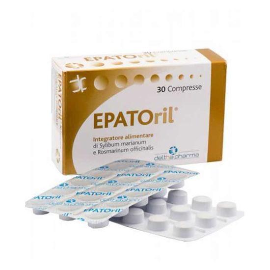 EPATOril pegasti badelj in rožmarin, 30 tablet