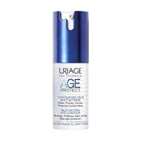 Slika Uriage Age Protect Multi Action krema za področje okrog oči, 15 mL