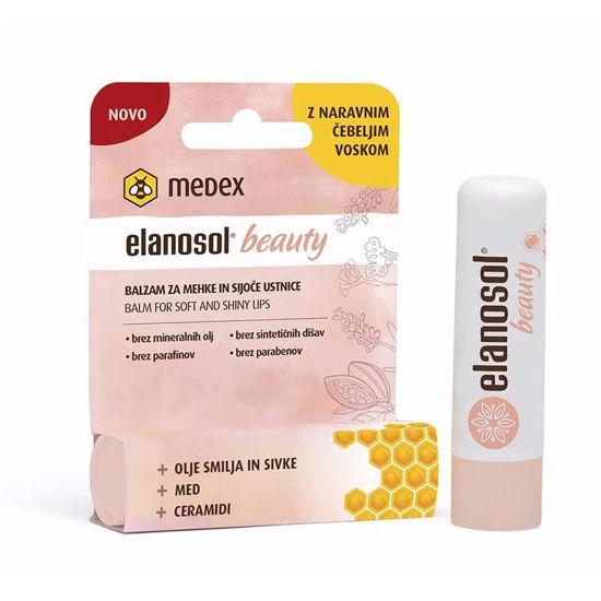 Elanosol Beauty balzam za mehke in sijoče ustnice, 5.1 g