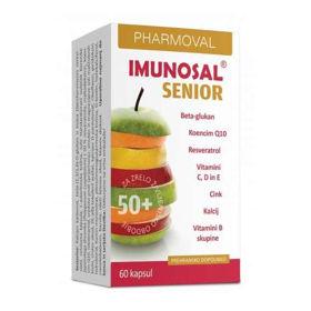 Slika Imunosal Senior za starejše, 60 kapsul
