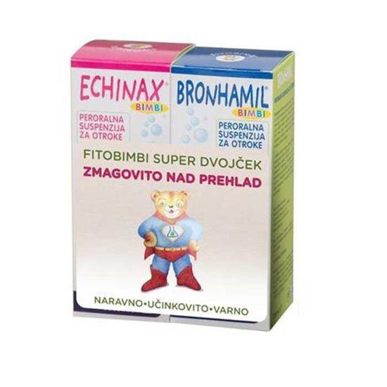 Fitobimbi dvojček (Echinax, 200 mL + Bronhamil, 200 mL)